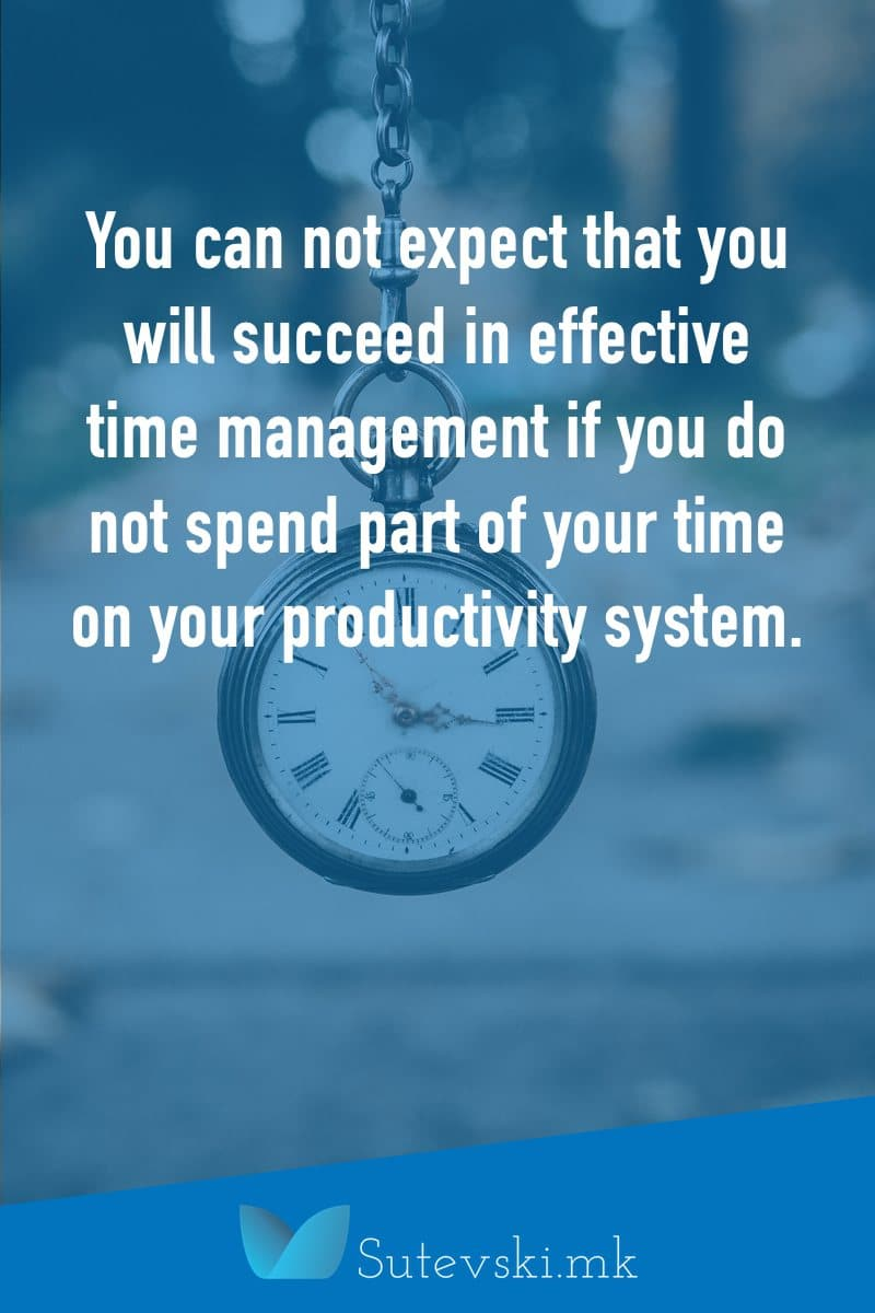 system for effective time management